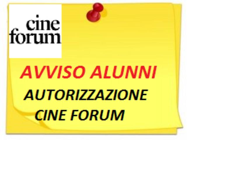 Allegato Autorizzazione_ Cine Forum