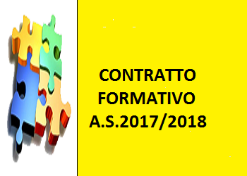 Contratto Formativo A.S. 2017/18
