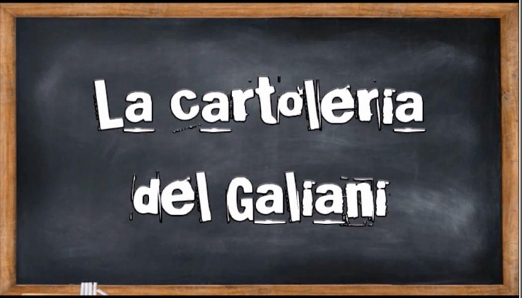 La Cartoleria del Galiani