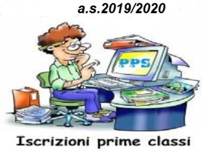 Indicazioni Iscrizioni 1 Classe a.s.2019-2020