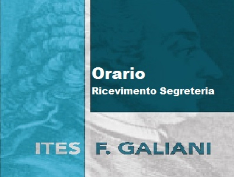 Orario Ricevimento Segreteria a.s.2019/2020