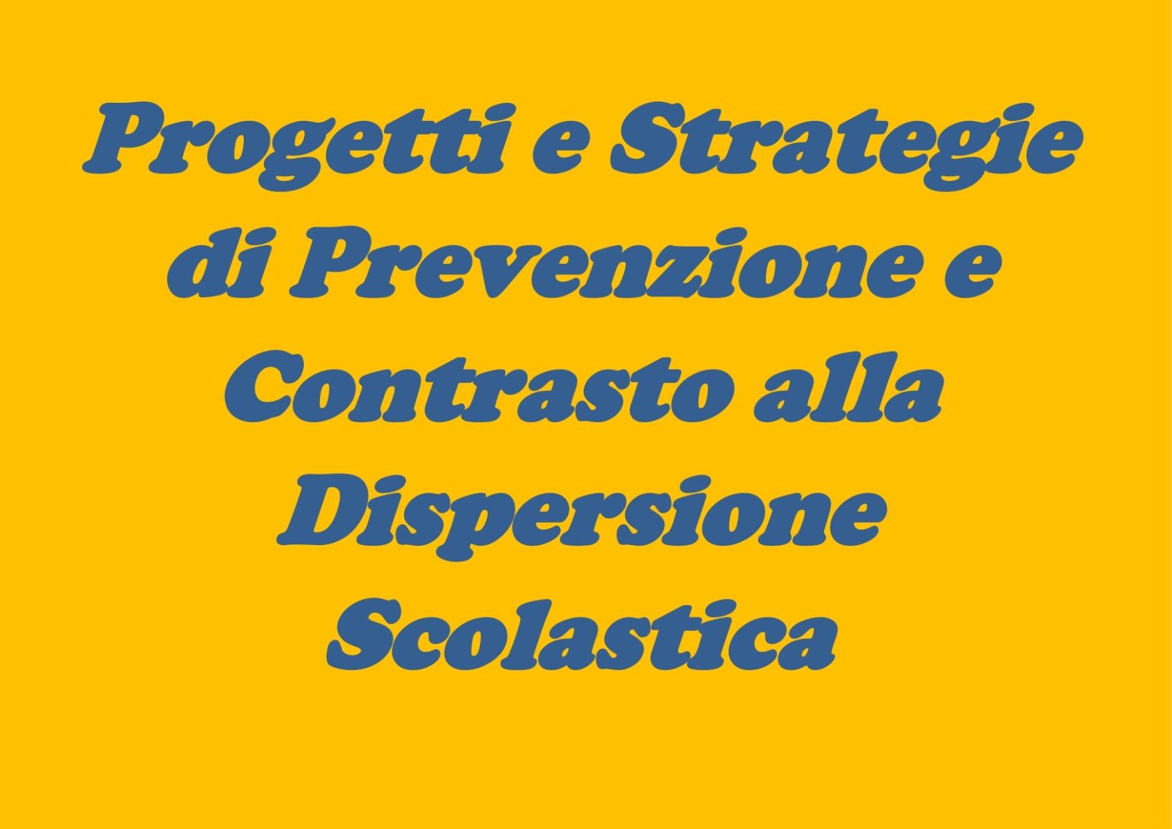 ProgettI e strategie di prevenzione e contrasto...