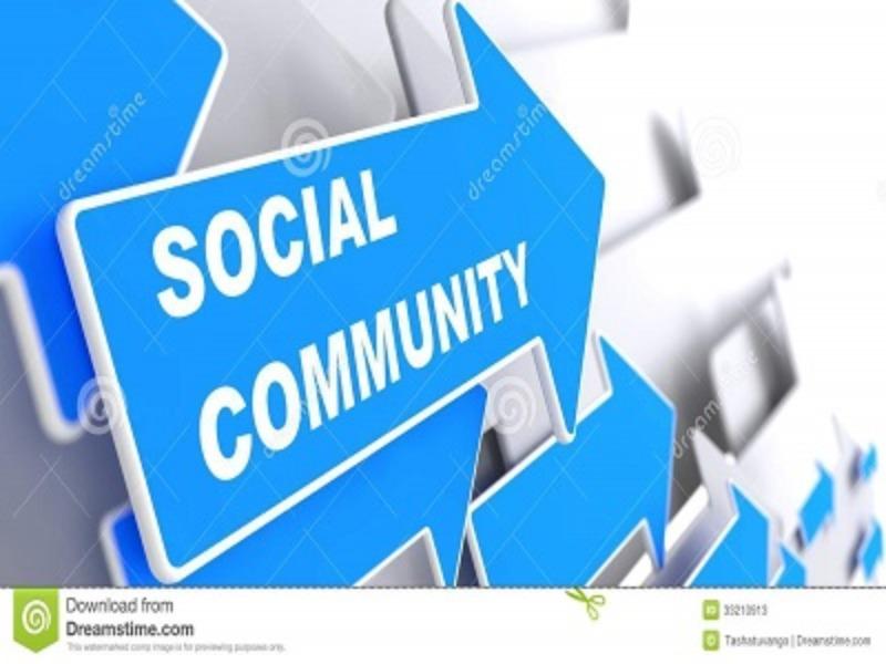 """Presentazione Progetto """"Social Community"""""""