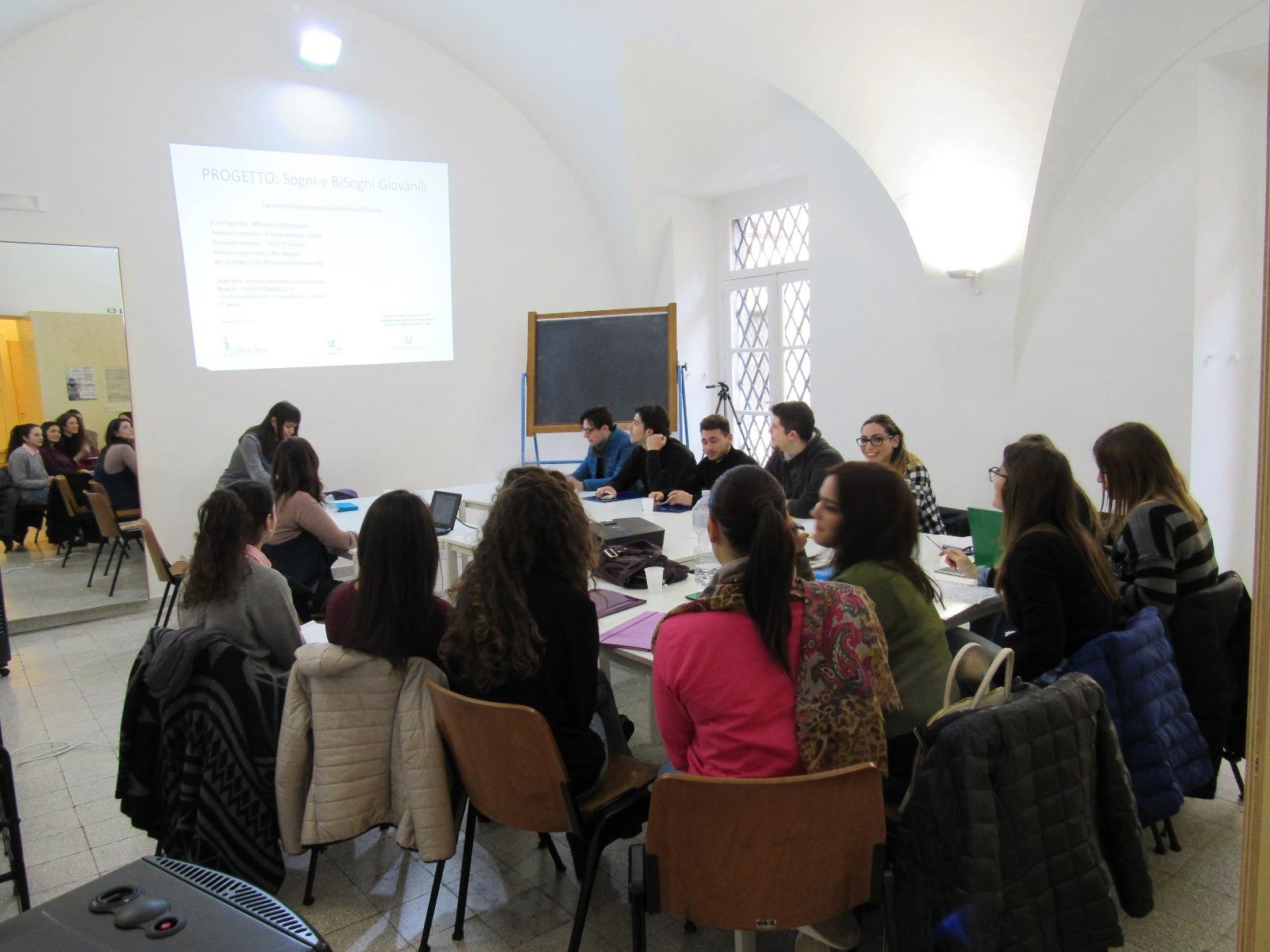 Attività di placement per gli ex studenti del Galiani