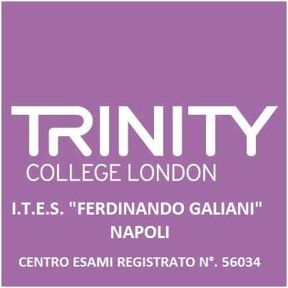TRINITY COLLEGE LONDON - Centro Esami Registrato