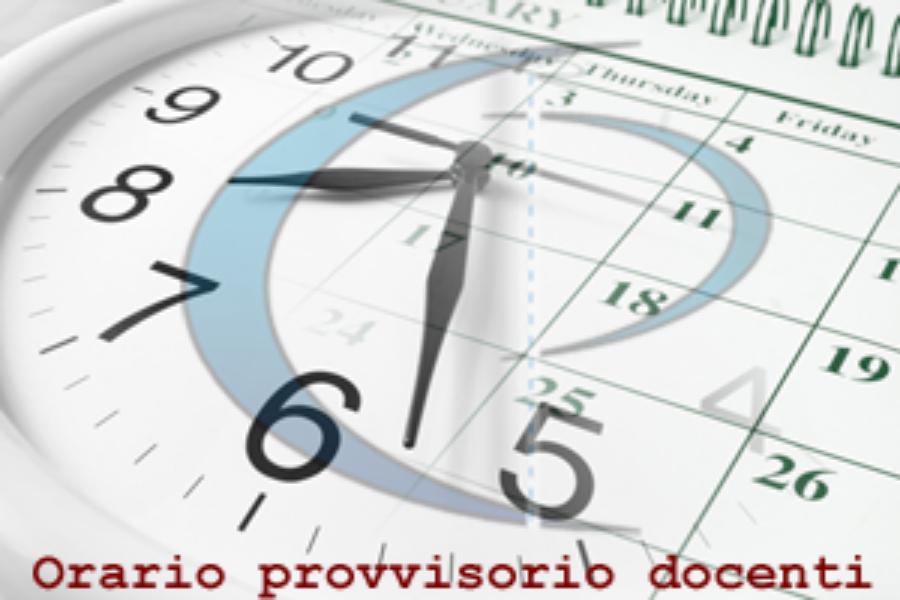 Orario Provvisorio Lezioni in Vigore dal 23 al 27 Settembre a.s.2019/2020